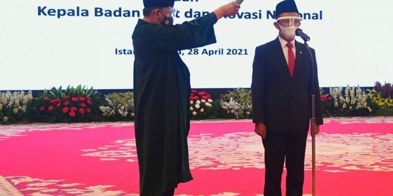 Jokowi Lantik Menteri Investasi, Mendikbudristek, dan ...